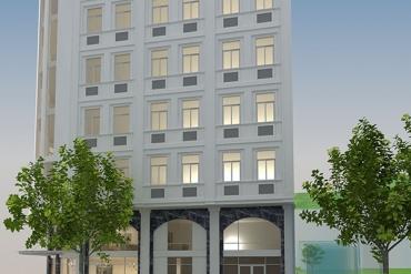Mẫu khách sạn 9 tầng cổ điển tại Q7 TPHCM