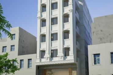 Mẫu khách sạn hiện đại 7 tầng tại Quận 9 TPHCM