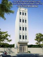 mẫu nhà phố 5 tầng tân cổ điển tại Quận Tân Phú