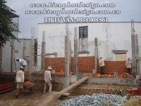 XÂY DỰNG NHÀ PHỐ HIỆN ĐẠI 2 TẦNG TẠI BÌNH DƯƠNG